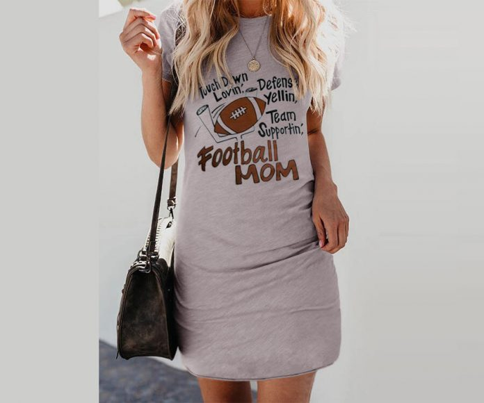 Football Mom Mini Dress