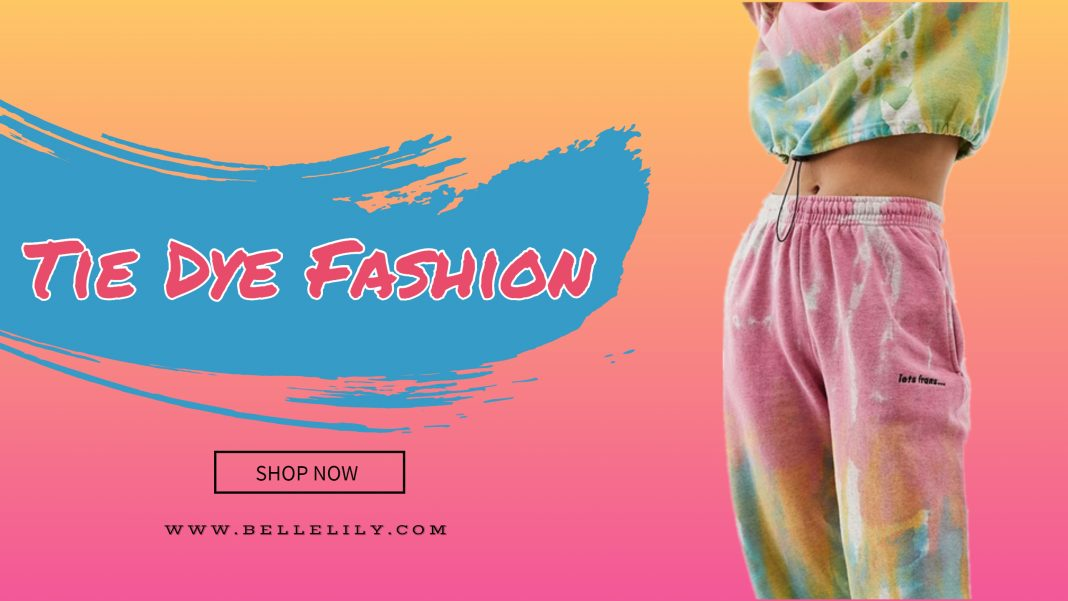 Bellelily Tie Dye Fashion