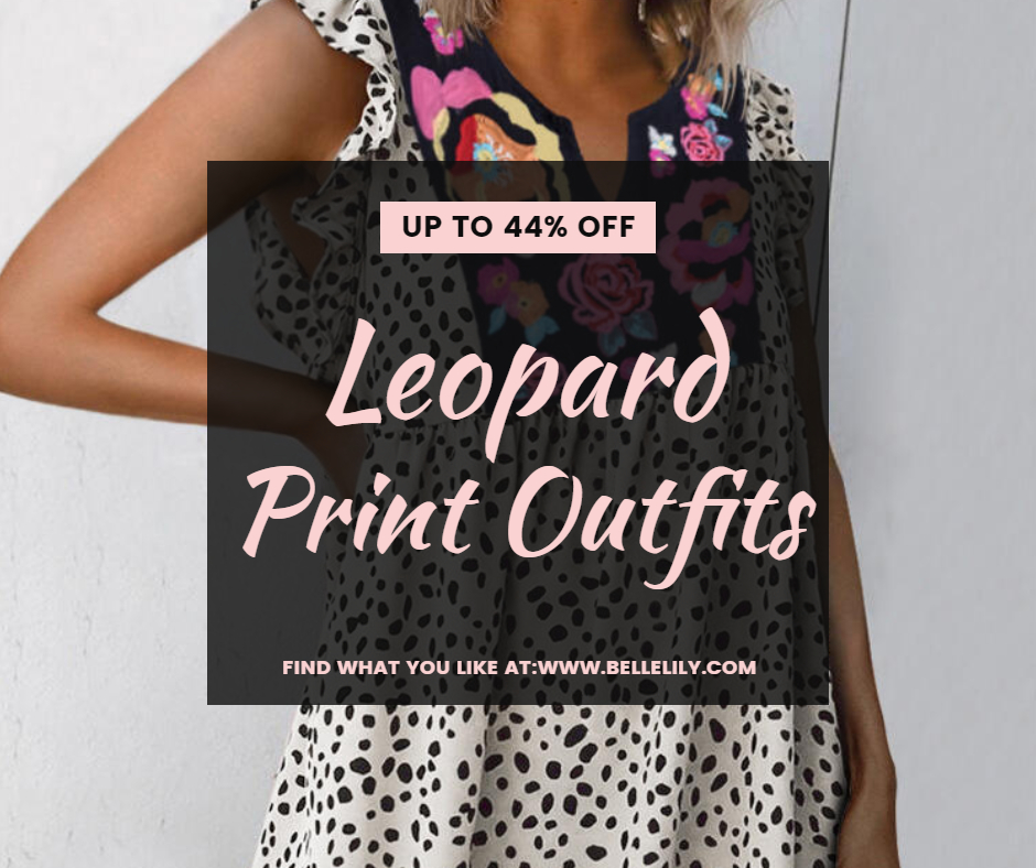Bellelily Leopard Print Outfits