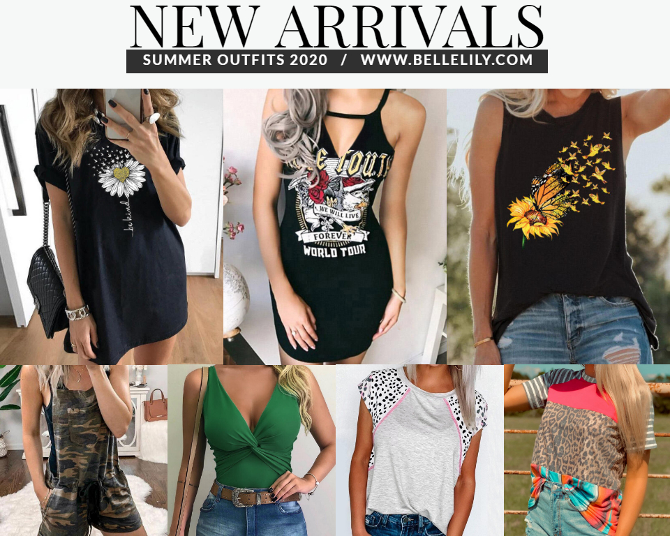 Bellelily New Arrivals Summer Clothes